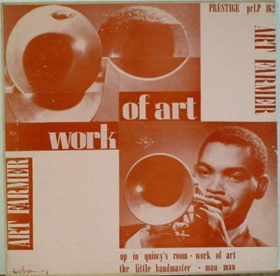 ART FARMER - Art Farmer Septet : Work Of Art (aka Art Farmer Septet) cover