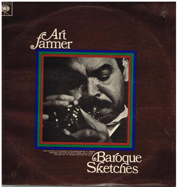 ART FARMER - Baroque Sketches cover