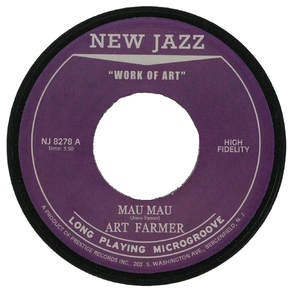 ART FARMER / THE JAZZTET - Mau Mau / Tiajuana cover