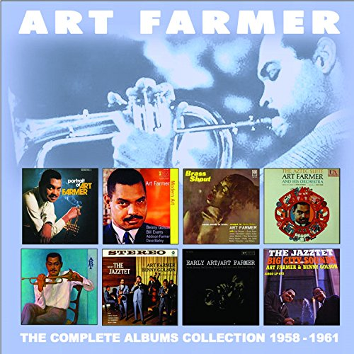 ART FARMER - The Complete Albums Collection 1958-1961 cover
