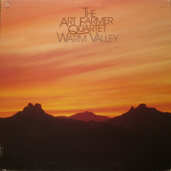 ART FARMER - Warm Valley cover