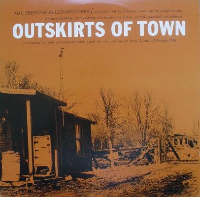 ART FARMER - The Prestige Blues Swingers : Outskirts of Town cover