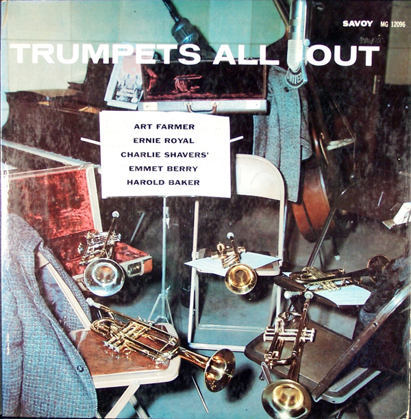 ART FARMER - Trumpets All Out cover