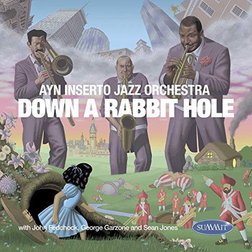 AYN INSERTO JAZZ ORCHESTRA - Down a Rabbit Hole cover