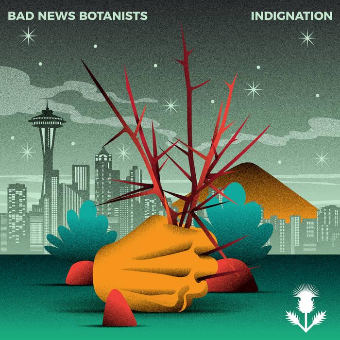 BAD NEWS BOTANISTS - Indignation cover