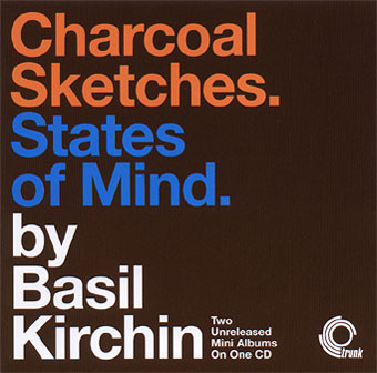 BASIL KIRCHIN - Charcoal Sketches. States Of Mind. cover