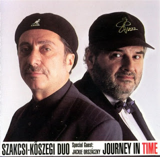 BÉLA SZAKCSI LAKATOS - Journey In Time cover