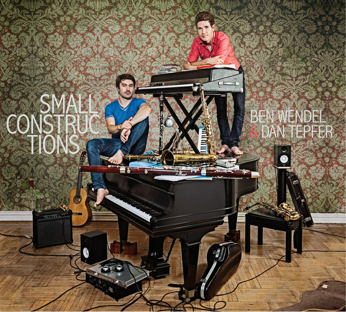 BEN WENDEL - Small Constructions (with Dan Tepfer) cover