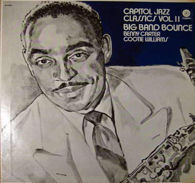 BENNY CARTER - Benny Carter & Cootie Williams : Big Band Bounce cover