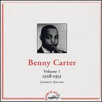 BENNY CARTER - Complete Edition, Volume 1 (1928-1931) cover