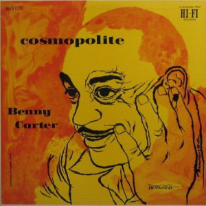 BENNY CARTER - Cosmopolite cover