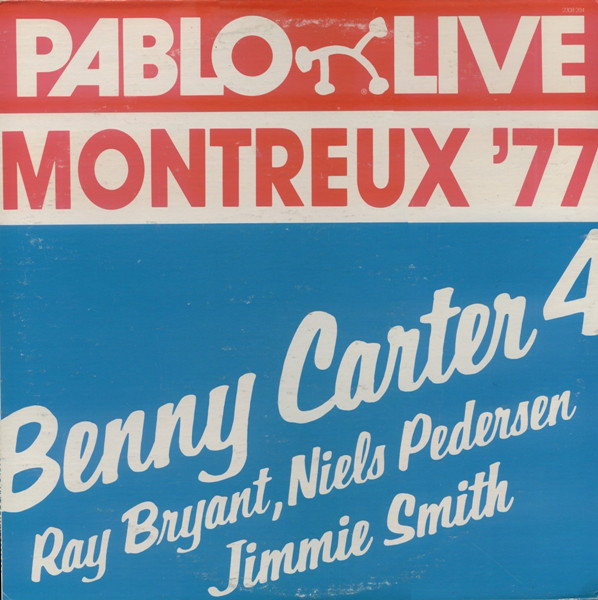 BENNY CARTER - Montreux '77 cover