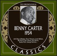 BENNY CARTER - The Chronological Classics: Benny Carter 1954 cover