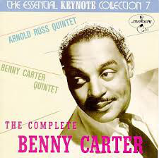 BENNY CARTER - The Complete Benny Carter on Keynote cover