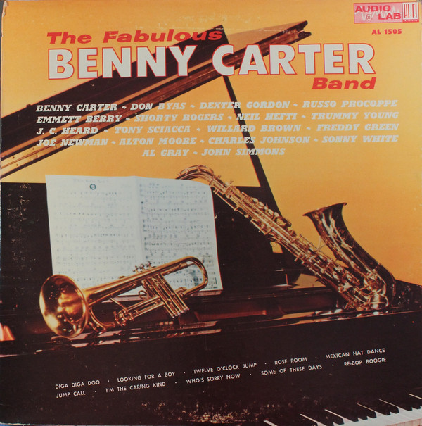 BENNY CARTER - The Fabulous Benny Carter Band cover