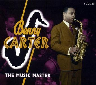 BENNY CARTER - The Music Master cover
