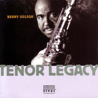 BENNY GOLSON - Tenor Legacy cover