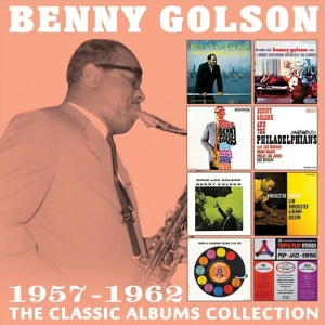 BENNY GOLSON - The Classic Albums Collection : 1957-1962 cover