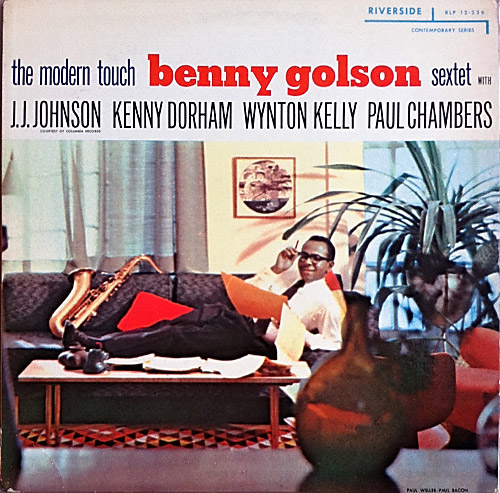 BENNY GOLSON - The Modern Touch (aka Reunion) cover