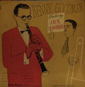 BENNY GOODMAN - Benny Goodman Featuring Jack Teagarden cover