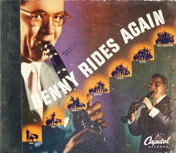 BENNY GOODMAN - Benny Goodman Rides Again cover