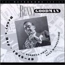 BENNY GOODMAN - Benny's Bop 1948~49 With Wardell Gray & Stan Hasselgard cover