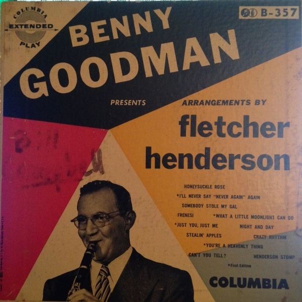 BENNY GOODMAN - Fletcher Henderson Arrangements cover