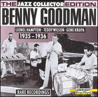 BENNY GOODMAN - Rare Recordings: 1935-1936 cover