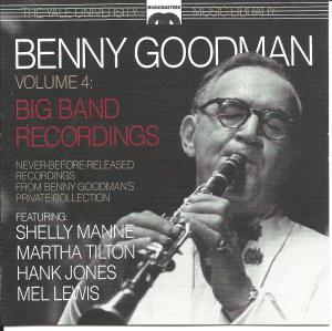 BENNY GOODMAN - Yale University Archives – Vol. 4 cover