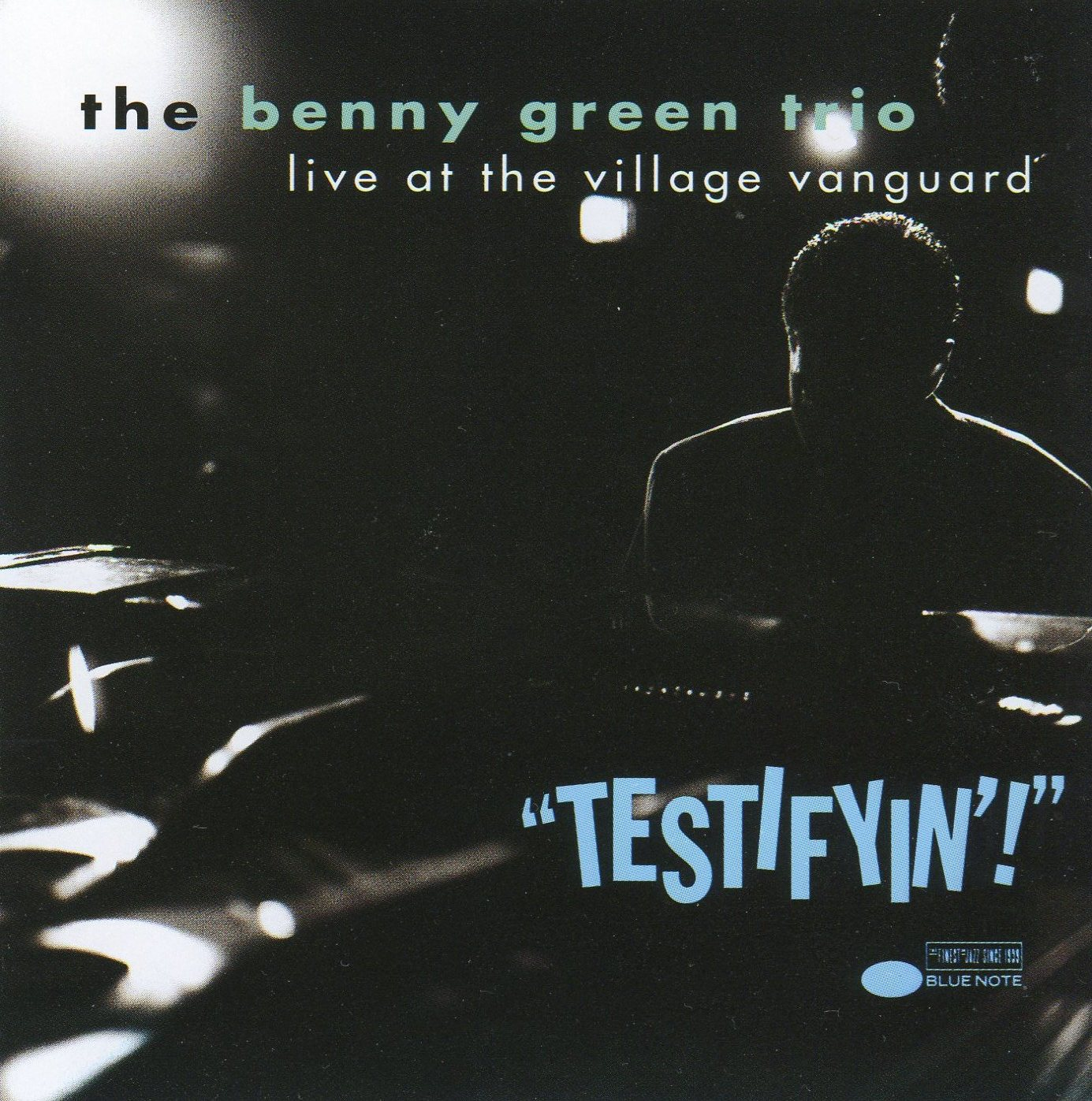 BENNY GREEN (PIANO) - Testifyin'!: Live at the Village Vanguard cover