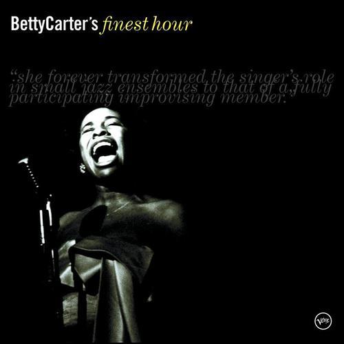 BETTY CARTER - Betty Carter's Finest Hour cover
