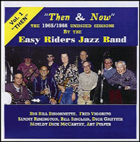 BIG BILL BISSONNETTE - The Easy Riders Jazz Band :Then cover