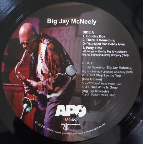 BIG JAY MCNEELY - Big Jay McNeely cover