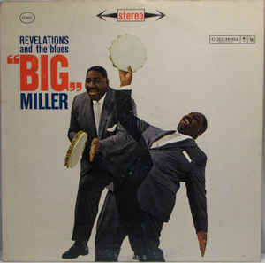 BIG MILLER - Revelations And The Blues cover