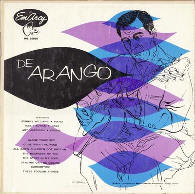 BILL DEARANGO - De Arango cover