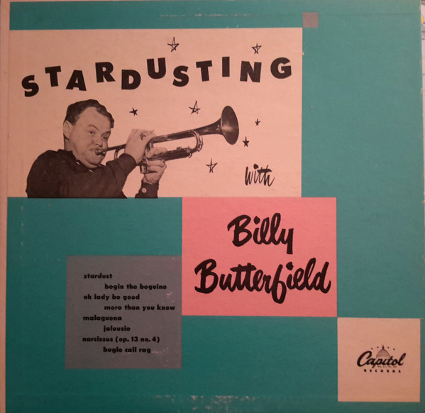 BILLY BUTTERFIELD - Stardusting With Billy Butterfield cover
