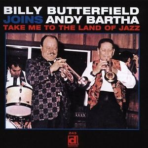 BILLY BUTTERFIELD - Take Me to the Land of Jazz cover