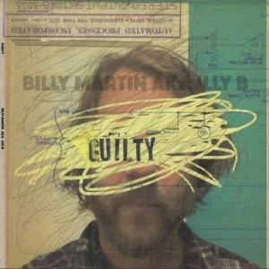 BILLY MARTIN - G U I L T Y cover