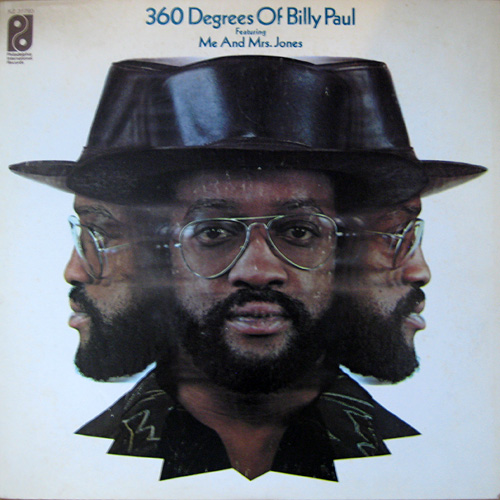 BILLY PAUL - 360 Degrees Of Billy Paul cover
