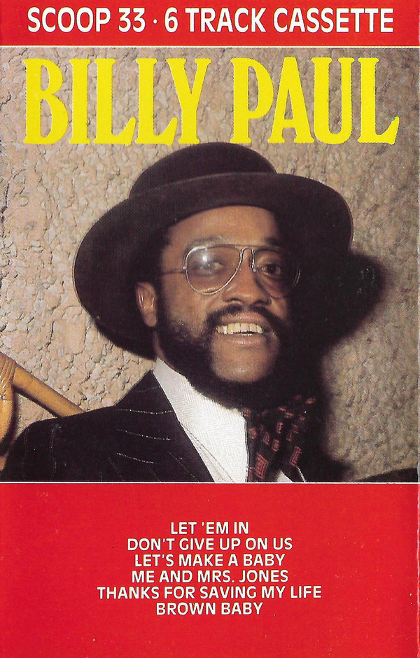 BILLY PAUL - Billy Paul cover