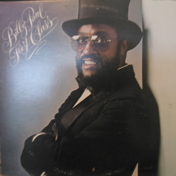 BILLY PAUL - First Class cover