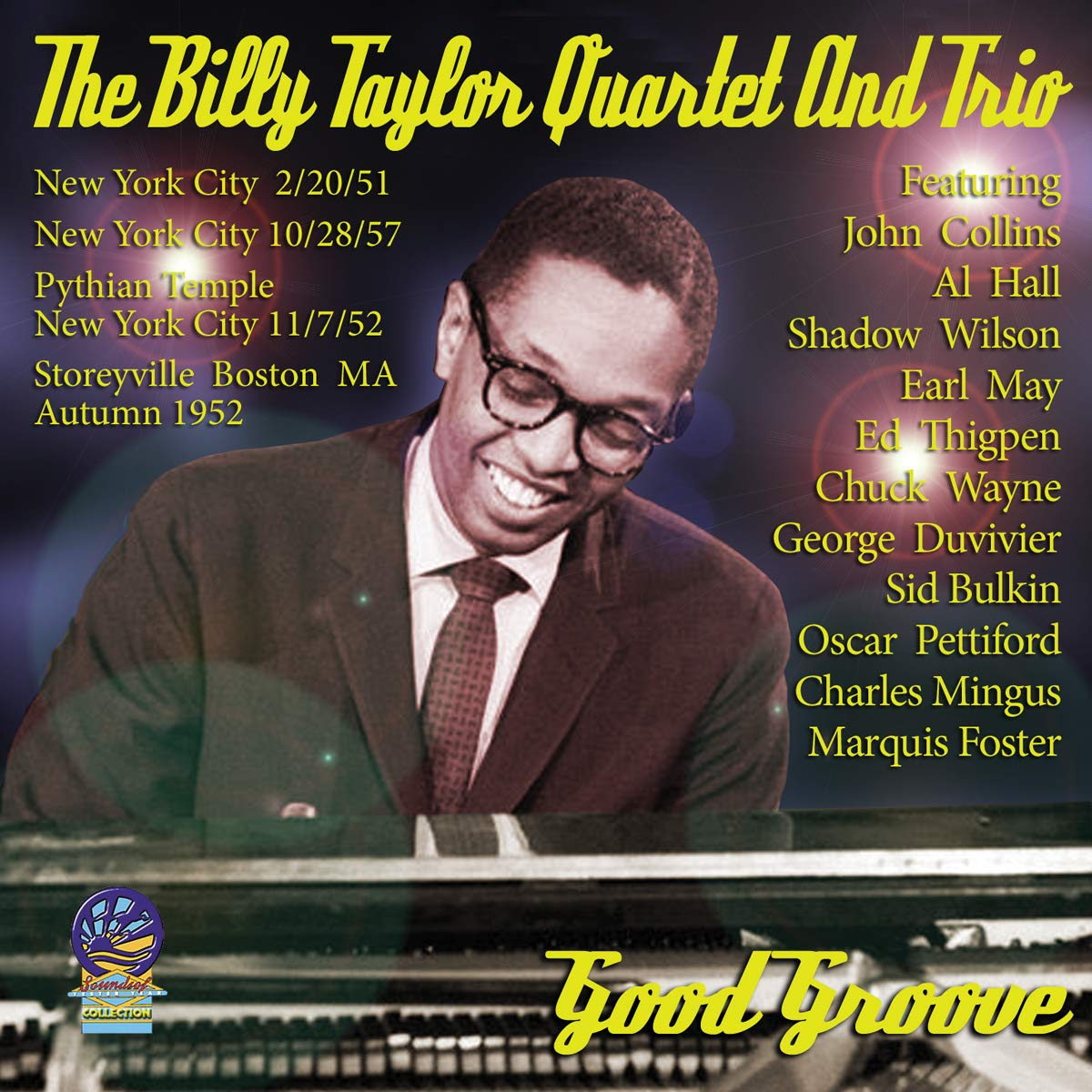 BILLY TAYLOR - Billy Taylor Quartet And Trio : Good Groove cover