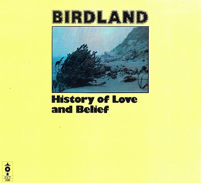 BIRDLAND - History Of Love And Belief cover