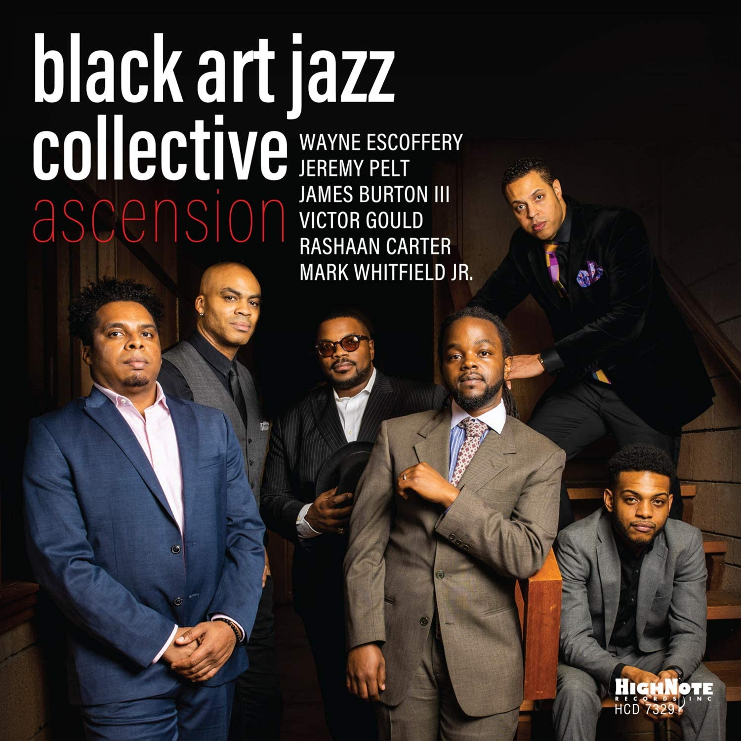 BLACK ART JAZZ COLLECTIVE - Ascension cover