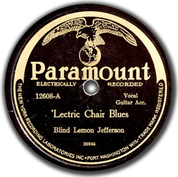 Blind Lemon Jefferson Lectric Chair Blues See That My