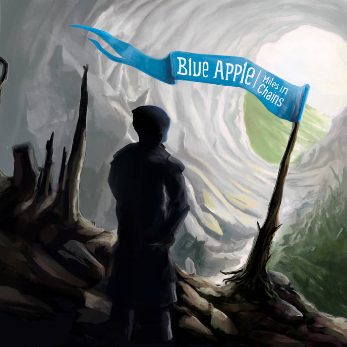 BLUE APPLE - Miles in Chains cover