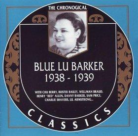 BLUE LU BARKER - The Chronological Classics 1938-1939 cover
