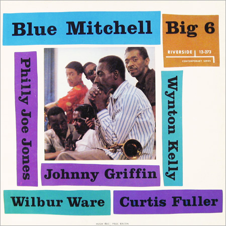 BLUE MITCHELL - Big 6 cover