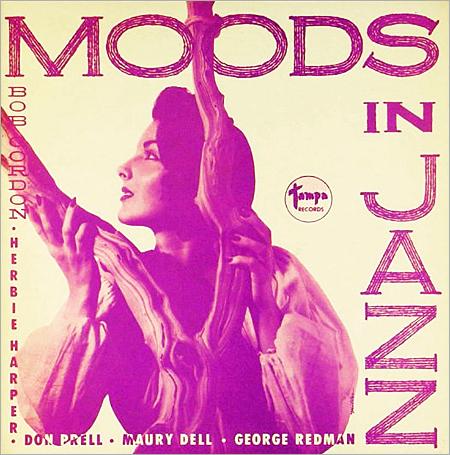BOB GORDON (SAXOPHONE) - Moods in Jazz (aka Jazz Impressions) cover
