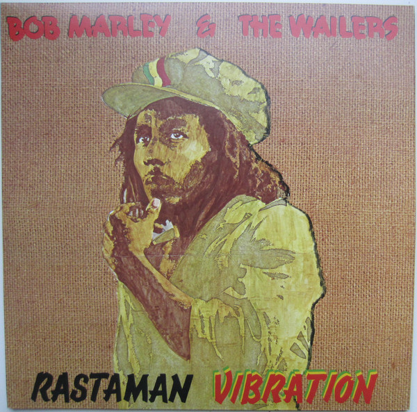 BOB MARLEY - Bob Marley & The Wailers : Rastaman Vibration cover